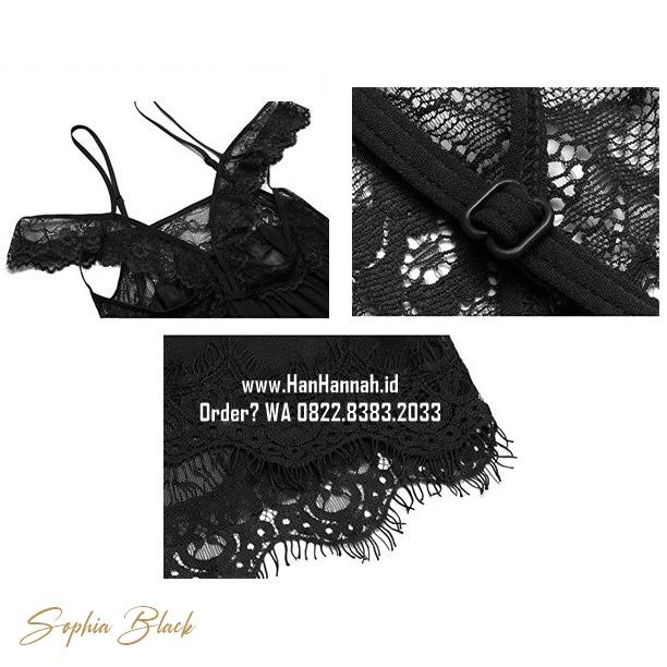 Premium XL-3XL, SOPHIA Sleepwear Set