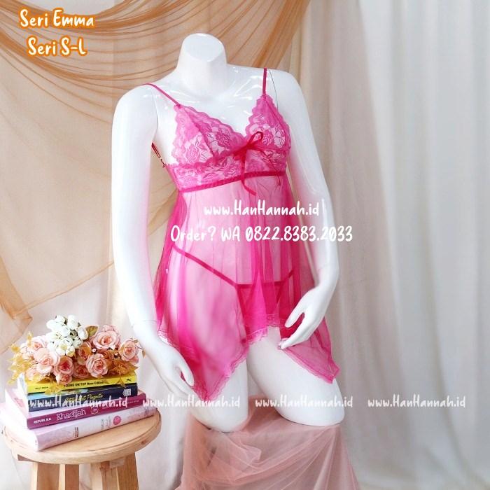 Lingerie Murah S-L, Emma Sleepwear Set