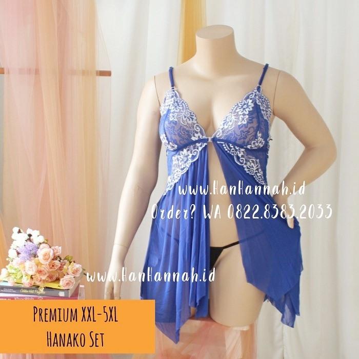 Premium XXL-5XL, HANAKO Sleepwear Set