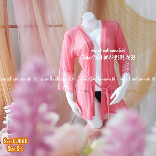 Premium S-L, CLAIRE Sleepwear Set