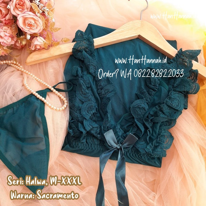 Premium M-XXXL, SELENA Mocha Sleepwear Set