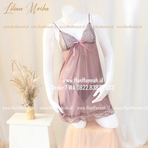Premium S-L, LILIAN Kimono & Sleepwear Set