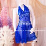 Premium S-L, LACE SAPHIRE Sleepwear Set