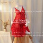 Premium M-XXXL, HANAYA Red Sleepwear Set