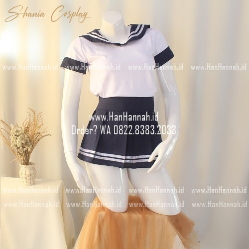 Lingerie Cosplay S-L, SHANIA Student Set