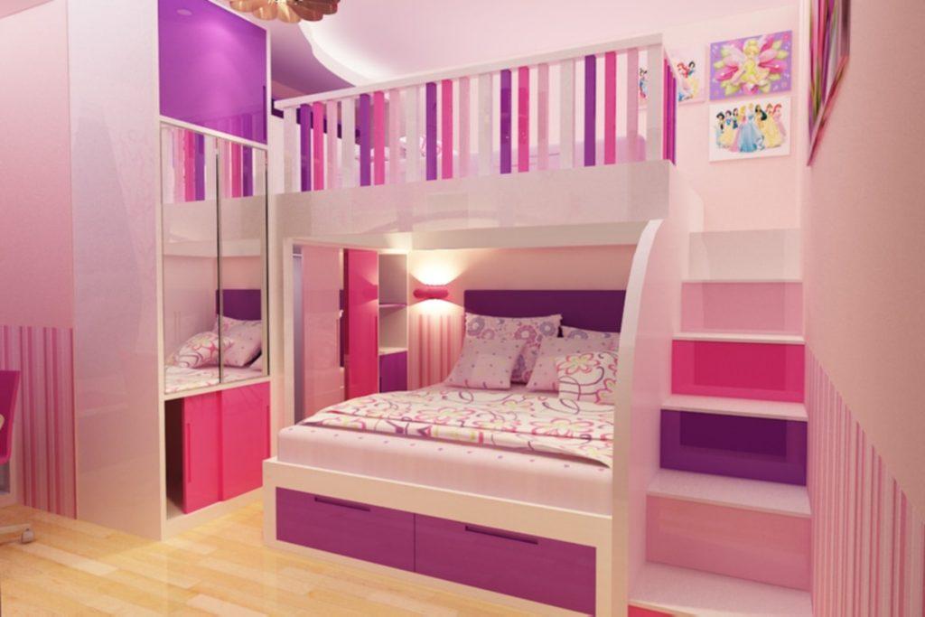 Desain Kamar Anak Perempuan Minimalis, Perhatikan Hal-Hal ...